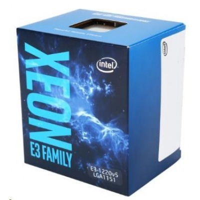 CPU INTEL XEON E3-1220 v6, LGA1151, 3.00 GHz, 8MB L3, BOX