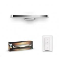 PHILIPS Adore Nástěnné svítidlo, Hue White ambiance, 24V, 1x40W integr.LED, Chrom