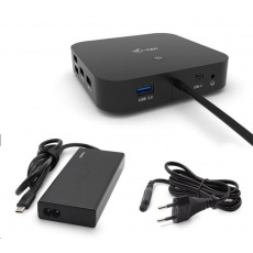 iTec USB-C Dual Display Docking Station s Power Delivery 65W + Universal Charger 77 W - NÁHRADNÍ OBAL