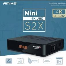 AMIKO Satelitný prijímač AMIKO MINI 4K.UHD S2X