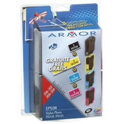 ARMOR cartridge pro EPSON RX420/425 multipack (T055XXX)