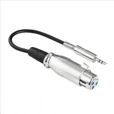 Hama audio adaptér XLR zásuvka - jack vidlica 3,5 mm stereo