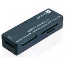CONNECT IT Čtečka paměťových karet UltraSlim All in 1