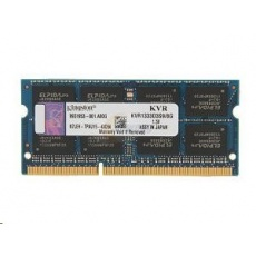 SODIMM DDR3 8GB 1333MHz CL9, KINGSTON ValueRAM