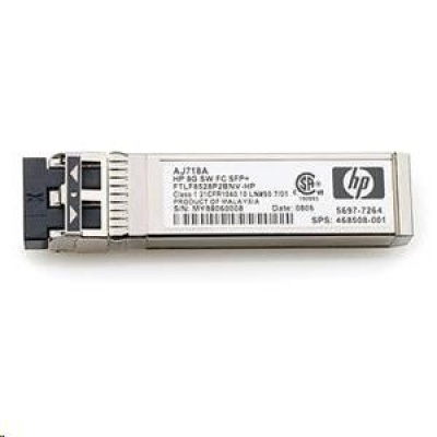 HP 8Gb Short Wave FC SFP+ HP RENEW AJ718A
