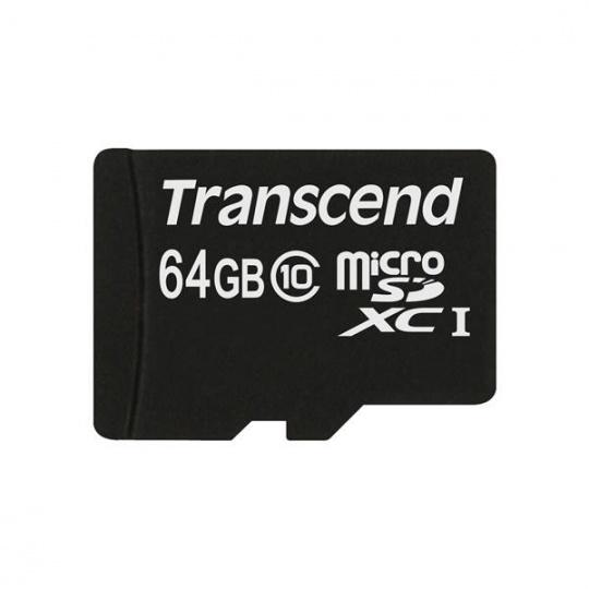 TRANSCEND MicroSDXC karta 64GB Class 10, UHS-I (45MB/s)