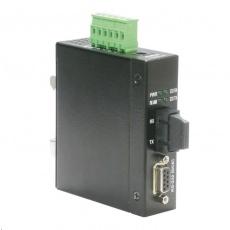 Roline Industrial Converter RS232 - Multimode Optical Fiber, SC, průmyslový konvertor