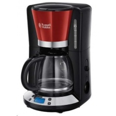 RUSSELL HOBBS 24031 Kávovar - Colours Plus Red