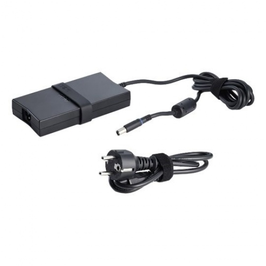 DELL 130W AC Adapter (3-pin) with European Power Cord (Kit)