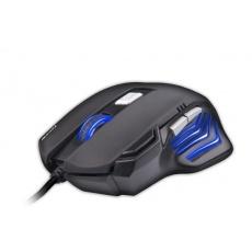 C-TECH myš AKANTHA ULTIMATE, herní, 7 barev podsvícení, laser, 3200 DPI, programovatelná, USB