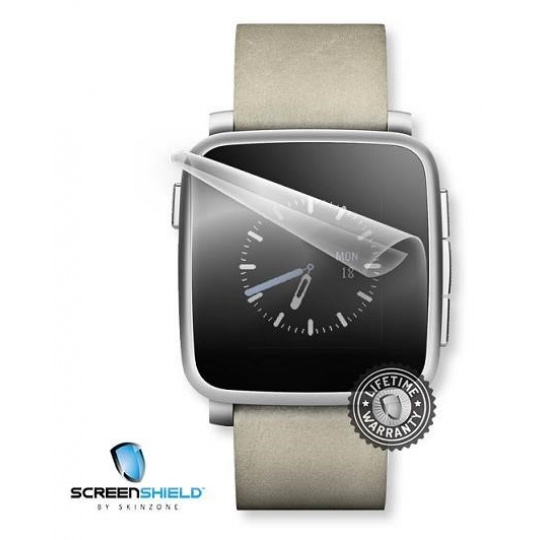 ScreenShield fólie na displej pro Pebble Time Steel
