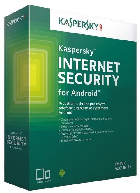 Kaspersky Internet Security ANDROID 1x/1rok/Obnova
