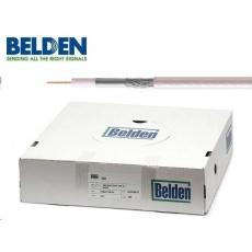 BELDEN H121 AL - koaxiální kabel, průměr 5mm, PVC, impedance 75 Ohm, bílý, 100m