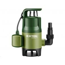 Extol Craft Čerpadlo na znečištěnou vodu, 400W, 7500l/hod