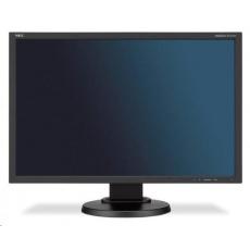 """NEC MT 24"""" LCD MuSy E245WMi B W-LED IPS,1920x1200/60Hz,6ms,1000:1,250cd,audio,DVI-D+DP+D-sub,16:10"""