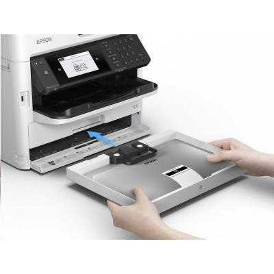 EPSON tiskárna ink WorkForce Pro WF-M5799DWF, 4in1, A4, 1200x1200 dpi, 34 ppm, 1200x2400 scan dpi, CIS, NFC, WIFI, USB
