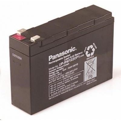 Baterie - Panasonic UP-VW1220P1 (12V-20W/čl. - Faston 250), životnost 6-9 let