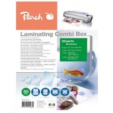 Peach Laminating Combi Box 25, PPC500-02