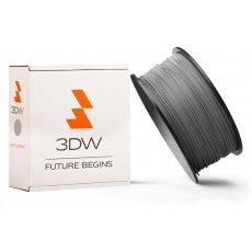 3DW ARMOR - ABS filament, průměr 1,75mm, 1kg, stříbrná