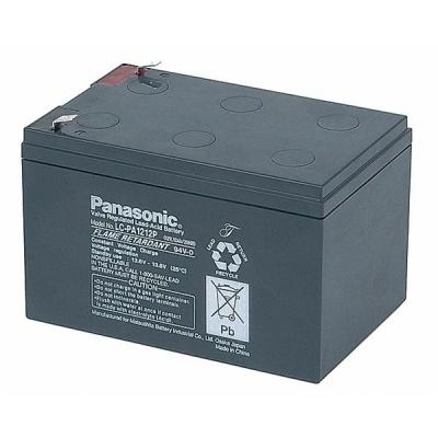 Baterie - Panasonic LC-PA1212P1 (12V/12Ah - Faston 250), životnost 10-12let