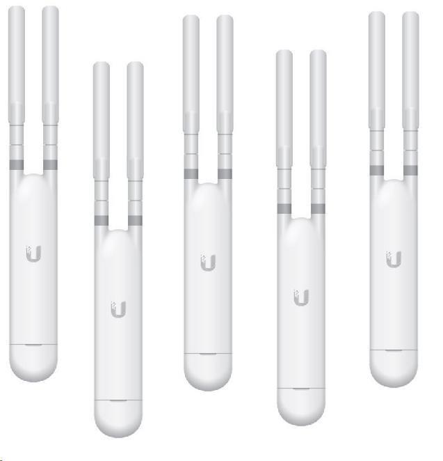 UBNT UniFi AP AC Mesh,5-PACK, bez PoE! [vnitřní/venkovní mesh AP,2.4GHz(300Mbps)+5GHz(867Mbps),2x2MIMO,802.11a/b/g/n/ac]