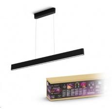 PHILIPS Ensis Svítidlo závěsné, Hue White and color ambiance, 230V, 2x39W integr.LED, Černá