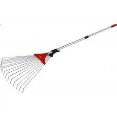 Extol Premium hrábě nastavitelné s teleskopickou násadou, délka 80-158cm, šířka 18-59cm 8875000