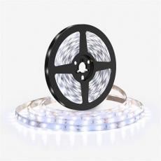 Solight LED světelný pás 5m, 198LED/m, 16W/m, 1500lm/m, IP20, studená bílá