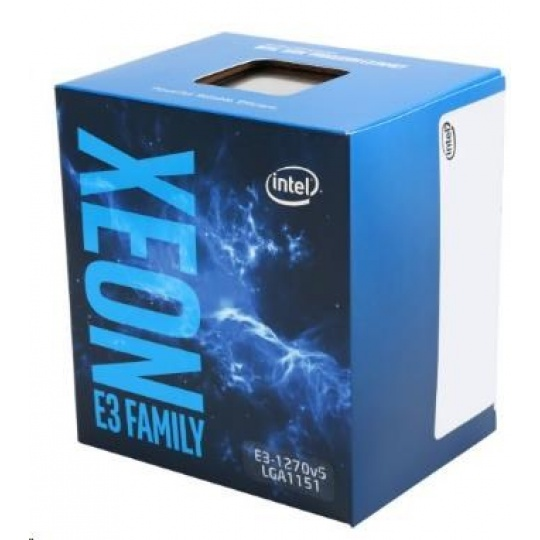 CPU INTEL XEON E3-1270 v6, LGA1151, 3.80 GHz, 8MB L3, 4/8, no VGA, 72W, BOX