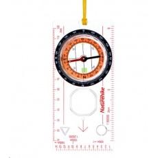Naturehike kompas/buzola transparentní s pouzdrem
