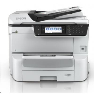 EPSON tiskárna ink WorkForce Pro WF-C8610DWF, 4v1, A3, 35ppm, Ethernet, WiFi (Direct), Duplex, 3 roky OSS po registraci