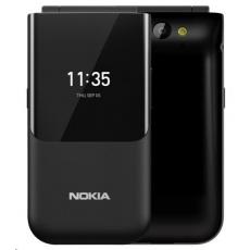 Nokia 2720 Flip, Dual SIM, véčko, Black 2019