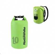 Naturehike vodotěsný batoh 250D 10l 410g - zelený