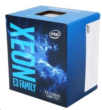 CPU INTEL XEON E3-1230 v6, LGA1151, 3.40 GHz, 8MB L3, 4/8, 72W, BOX
