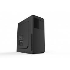 SPIRE skříň OEM1523, 500W, Midi Tower, USB 2.0, black