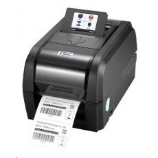 TSC TX300 Stolní TT tiskárna čárových kódů, 300 dpi, 6 ips, LCD, tmavá.