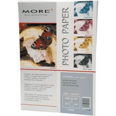 ARMOR Hlazený Color Laser papír; 200g/m2; oboustranný-glossy, 25 listů, A4