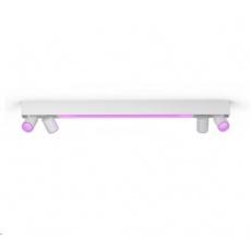 PHILIPS 4bodové stropní světlo Centris, Hue White and Color ambiance, 4x5.7W GU10, Bílá