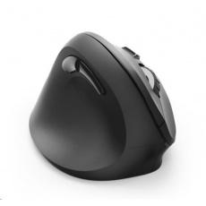 Hama vertikální ergonomická bezdrátová myš EMW-500L, pro leváky, černá