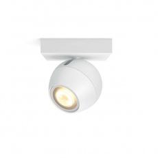 PHILIPS BUCKRAM Bodové svítidlo, Hue White ambiance, 230V, 1x5.5W GU10, Bílá, rozšíření