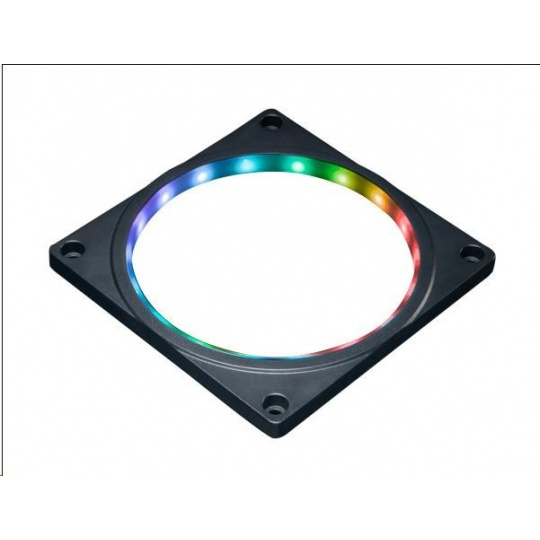 AKASA rám na větrák RGB, 120x120 mm fan, 3-pin, LED