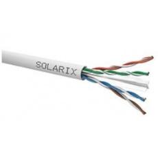 Instalační kabel Solarix UTP, Cat6, drát, PVC, box 100m SXKD-6-UTP-PVC