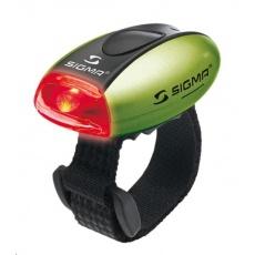 Sigma světlo na kolo MICRO zelená / zadní světlo LED-červená