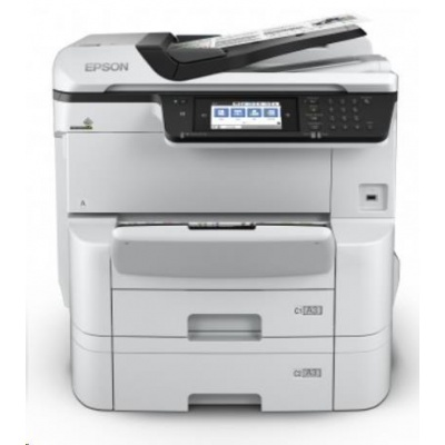 EPSON tiskárna ink WorkForce Pro WF-C8690DTWF ,4in1, A3, 35ppm draft, 1200x4800,  USB 3.0, NFC, WIFI, Ethernet,  DUPLEX