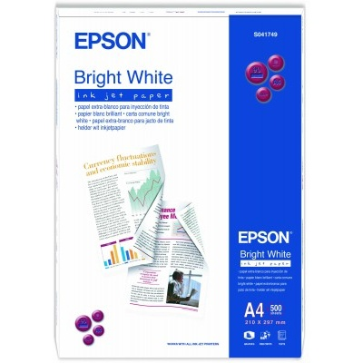 EPSON Paper A4 Bright White InkJet 90g/m2 (500 sheets)