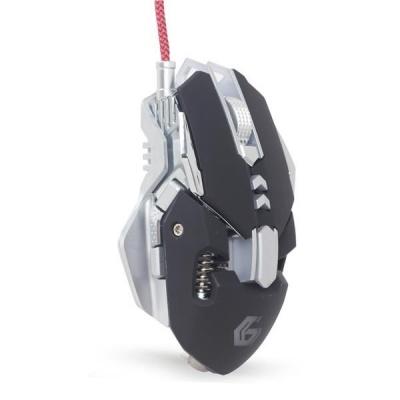 GEMBIRD myš MUSG-05, herní, optická, programovatelná, 4000DPI, USB