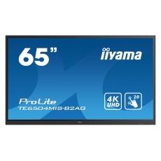 iiyama dotykový monitor ProLite TE6504MIS-B2AG, 165 cm (65''), infrared, 4K, black, Android