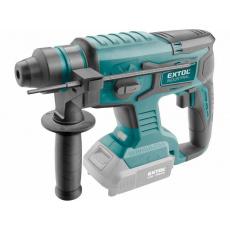 Extol Industrial 8791819 kladivo vrtací aku SHARE20V, 1,7J, SDS plus, BRUSHLESS, 20V Li-ion, bez baterie a nabíječky