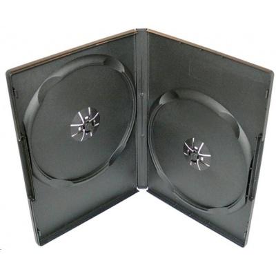 OEM Krabička na 2 DVD slim 9mm černá (balení 100ks)