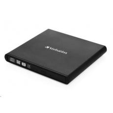 VERBATIM externí mechanika DVD-RW Rewriter USB 2.0 Black